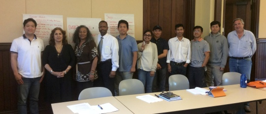 Tim Tseng SFTS students 2014 Fall
