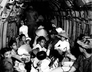 Vietnamese-refugees-evacuated-via-helicopter