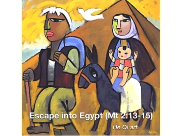 He Qu Escape into Egyp